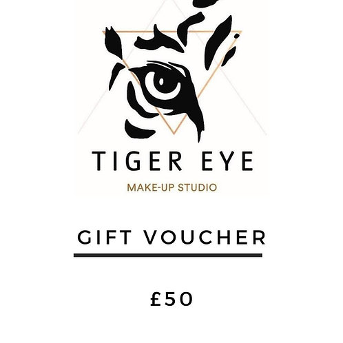 £50 Tiger Eye Gift Card