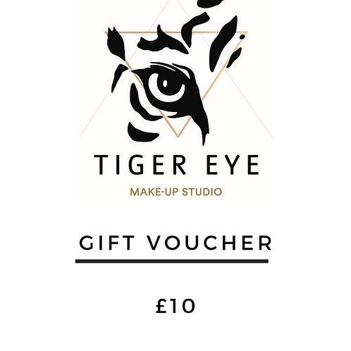 £10 Tiger Eye Gift Card