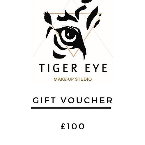 £100 Tiger Eye Gift Card