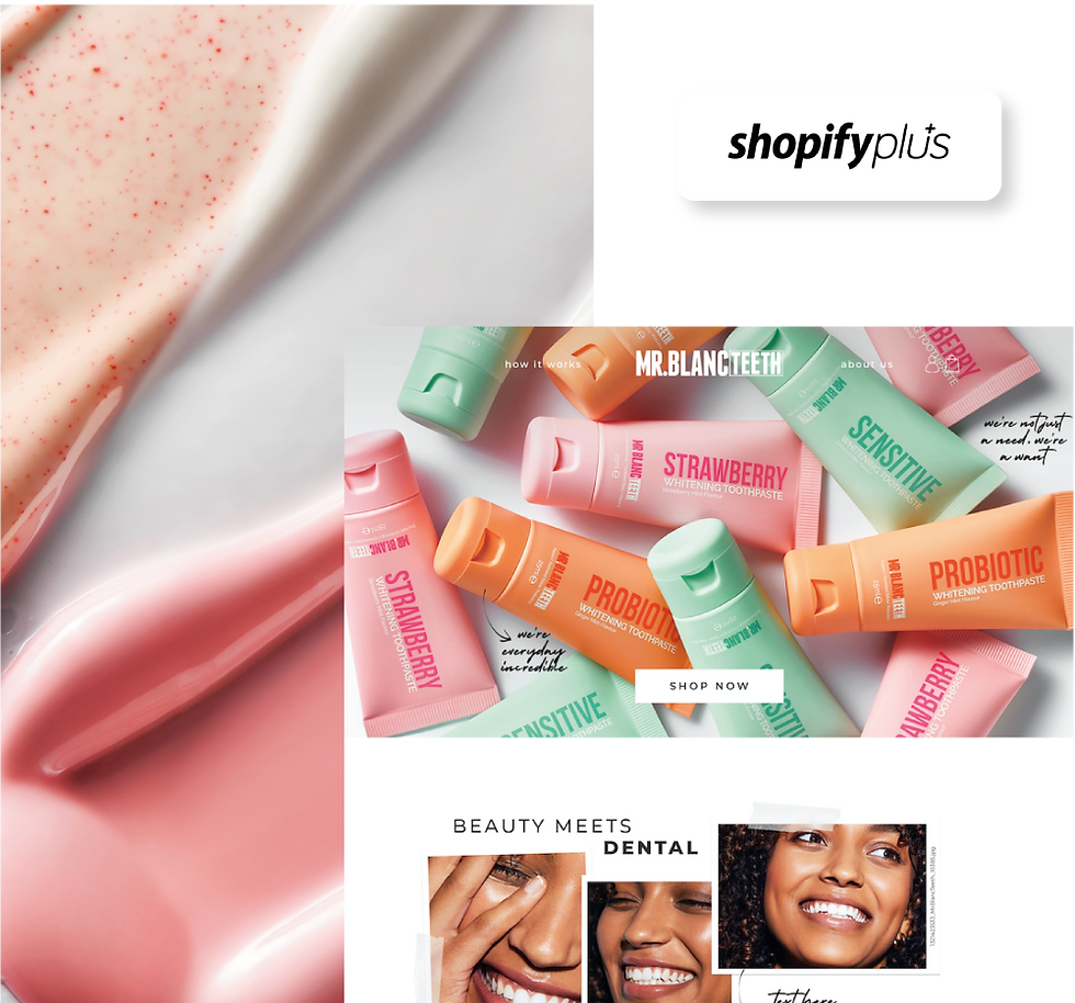 mr blanc teeth website