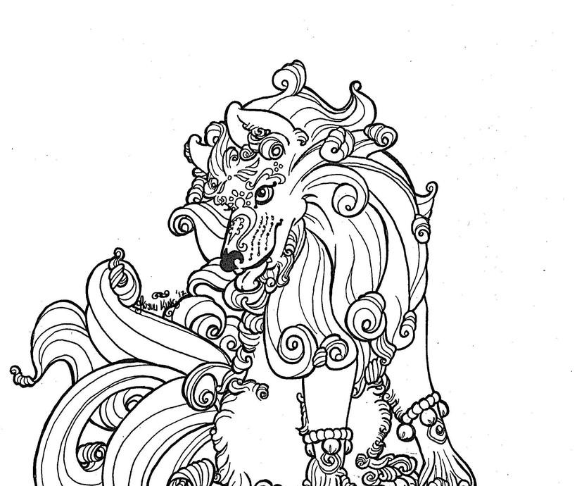 Winter Foo Dog - Female