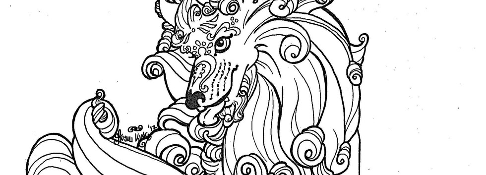 Winter Foo Dog - Female