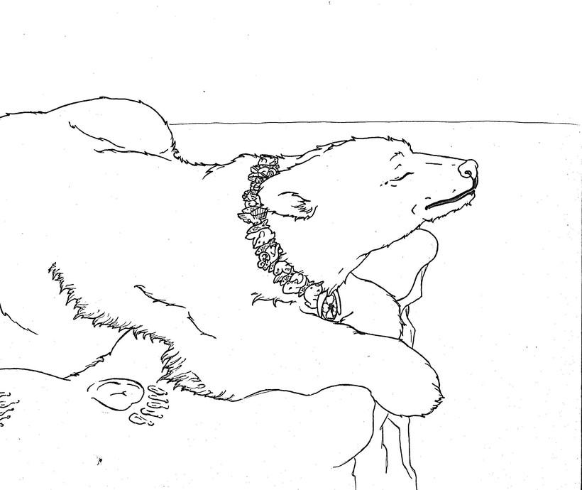 Spirit of Polar Bear Linework