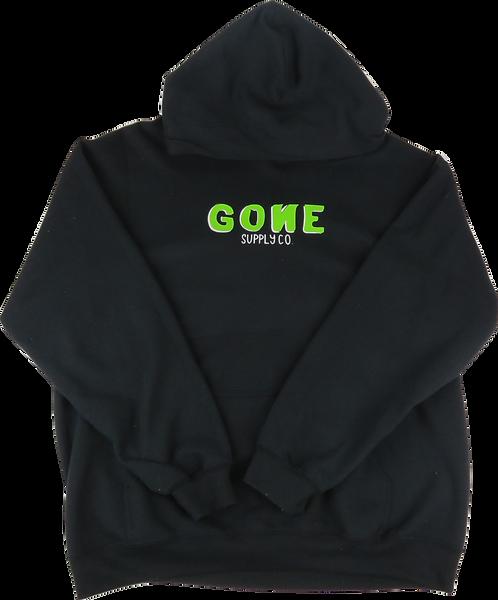 3D Logo Hoodie - Green/Black