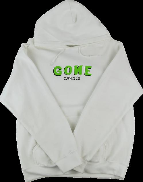 3D Logo Hoodie - Green/White