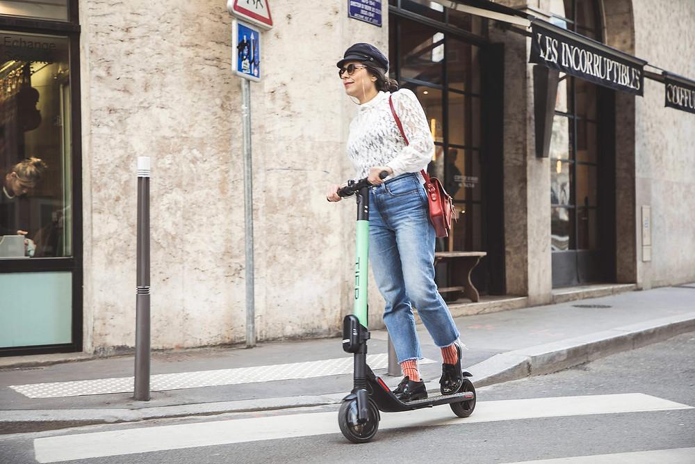 E-Scooter Sharing in München von Tier
