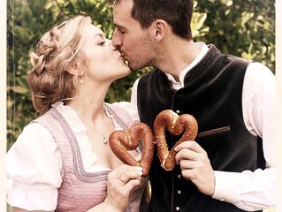 Liebe und tiefe Freude bei der Hochzeit von Barbara und Markus