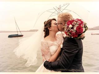 """Eine Hochzeit im """"Segen-Regen"""""""