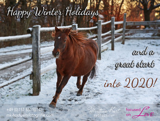 Winter-Saison Grüße