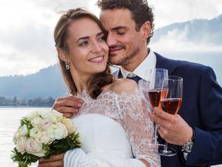 Eine Hochzeit am Tegernsee Anfang November