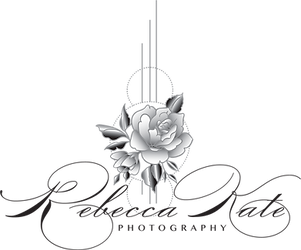 Rebecca Kate Photography Logo Black with Flower.png