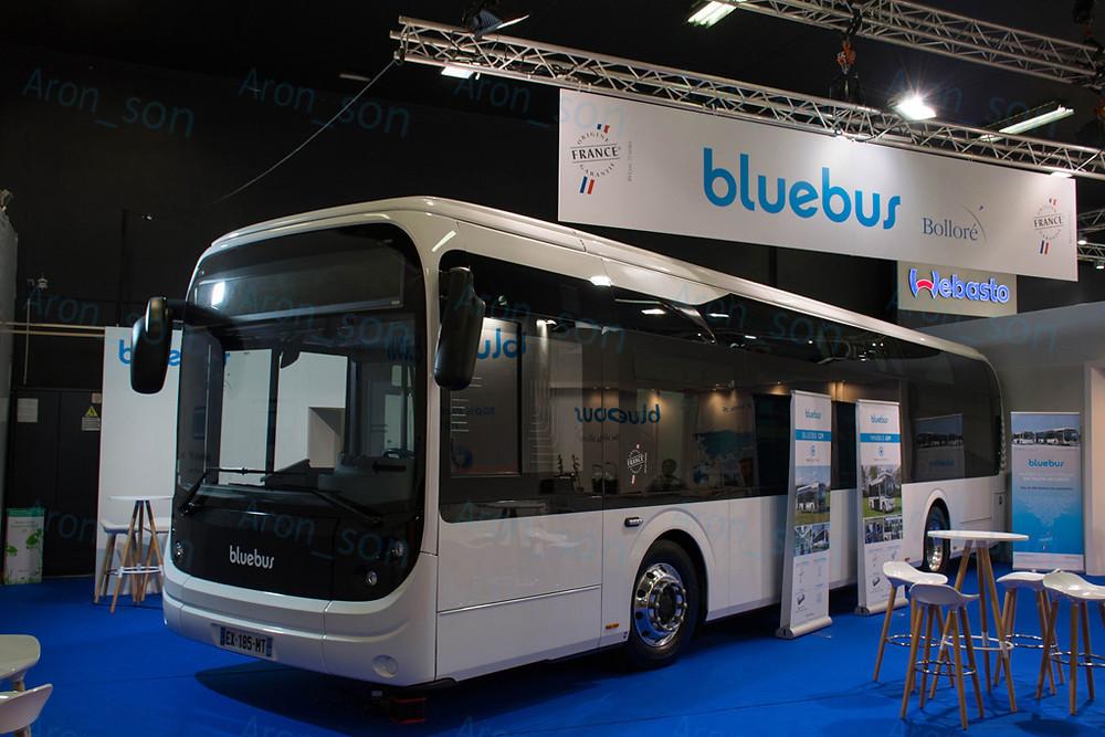 Bluebus 12 m. Külsőre OK.