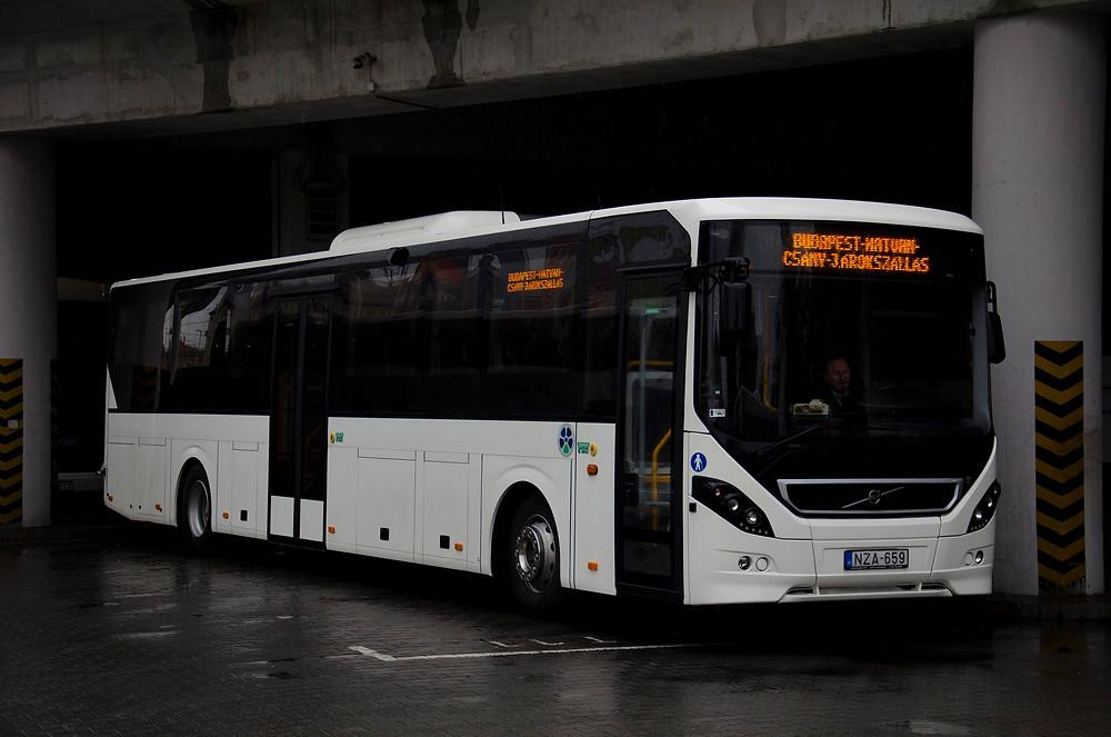 Az egyik Volvo 8900-as (NZA-659). Fotó: Aron_son