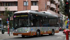 Solaris Urbino 8,9LE Electric Brüsszelben