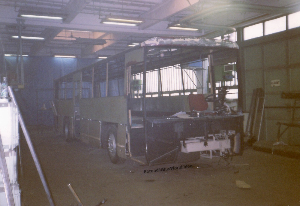 Union 390 - gyártás közben