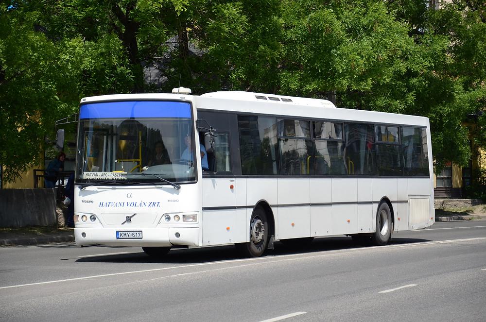 A KMY-617 volt az első Alfabusz Regio a Hatvani Volánnál (2006). Fotó:Aron_son