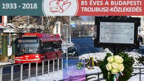 85 éves a fővárosi trolibusz-közlekedés