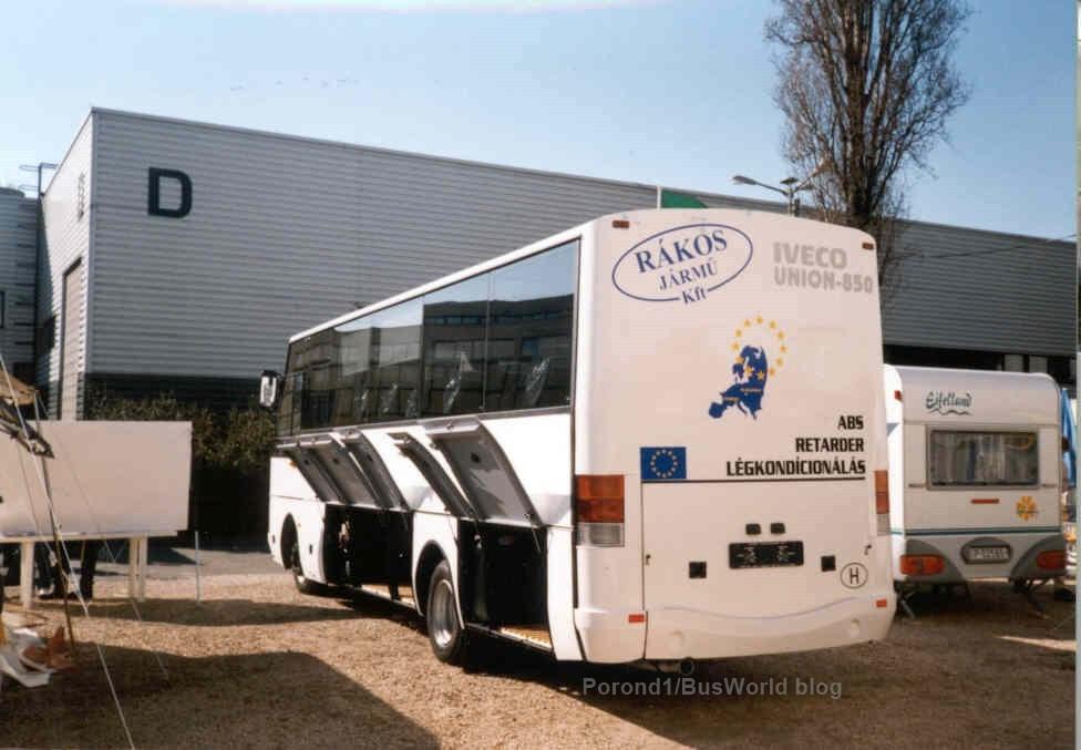 Iveco Eurounion 8,5 az Utazás '99 kiállításon
