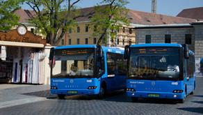 Elektromos buszok a Várban   Modulo C68e