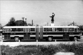 Csuklós autóbuszok a vidéki közlekedésben az IK 280-asok előtt | 2. rész