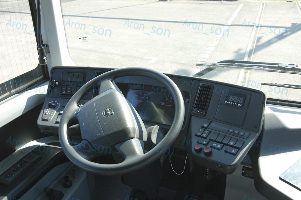 Kétféle műszerfallal szerelték a negyvenet: ez a Volvo teherautó műszerfala...