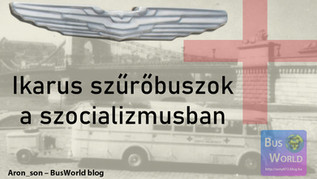Ikarus szűrőbuszok a szocializmusban
