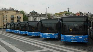 Agglomerációs buszok átadása