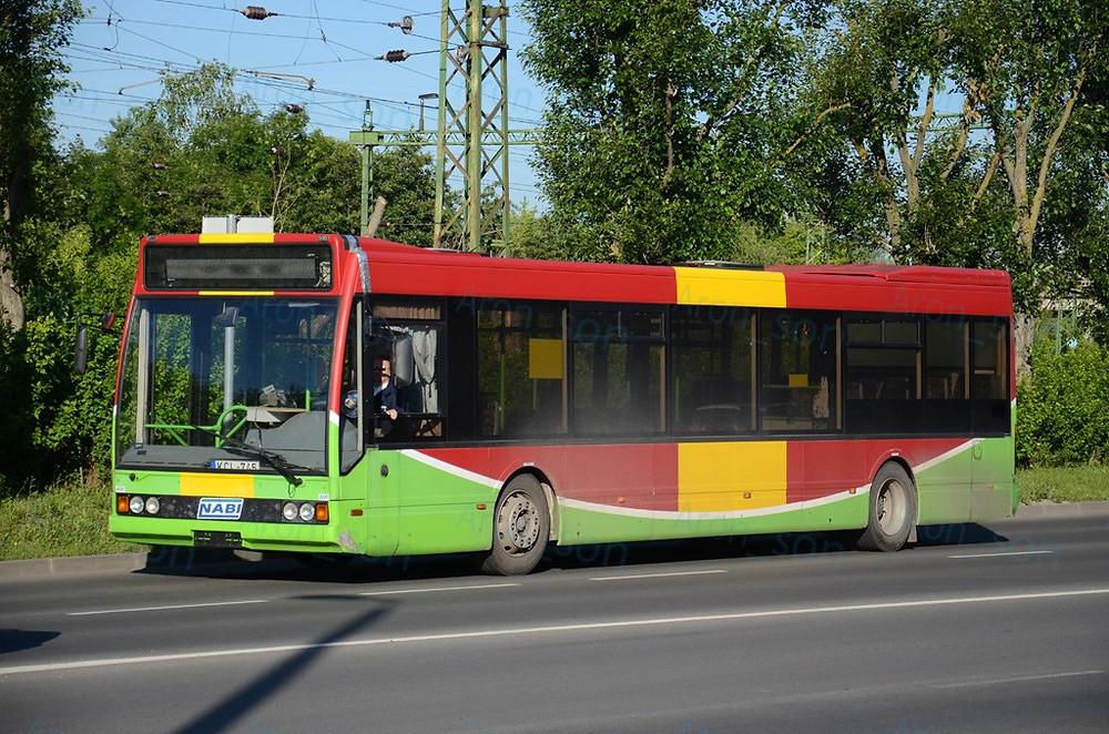 A prototípus Kaposvár helyi járatán.