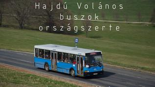 Hajdú Volános buszok országszerte
