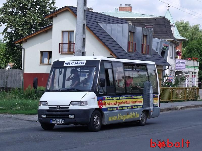 Peugeot Boxer-alapú minibusz. Fotó: Volános Oldalak.