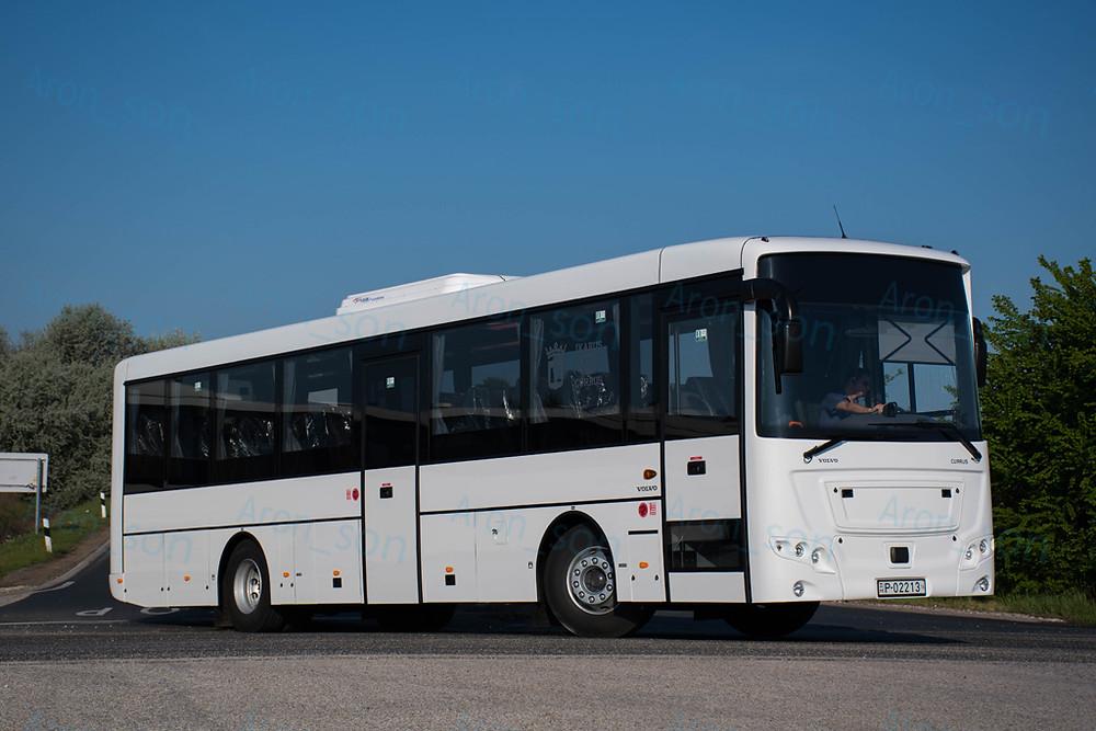 Későbbi RME-322 a Busexpóra tartván.