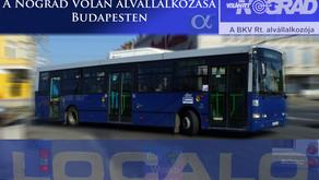 A Nógrád Volán alvállalkozása Budapesten