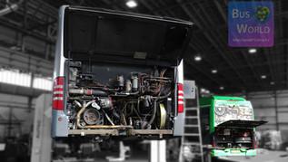Elektromos busz karbantartás