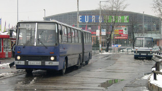 Használt Ikarus 280-asok a dél-pesti régióban (2002)
