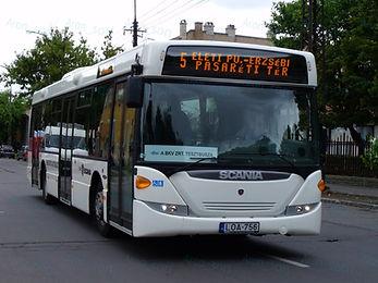 Scania OmniCity teszt | BKV Zrt.