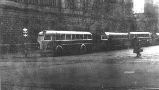 Az első szegedi csuklós autóbusz