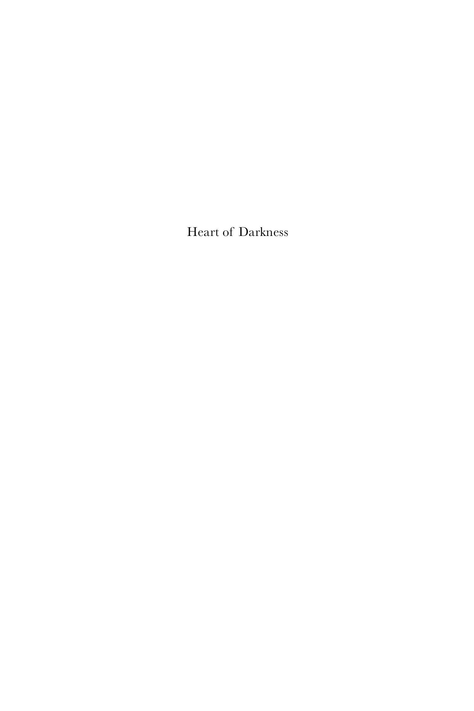 Heart of Darkness (spread 1)