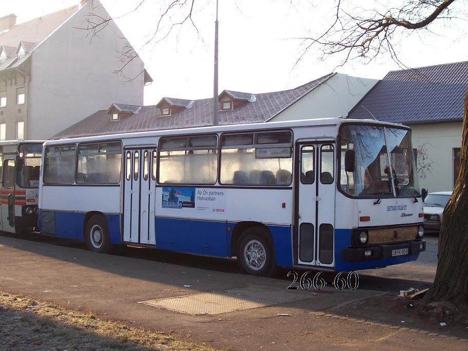 Egy másik kék-fehér kocsi, a BPK-850 (1987). Fotó: 266-60