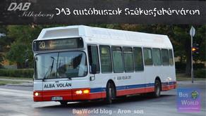 DAB autóbuszok Székesfehérváron