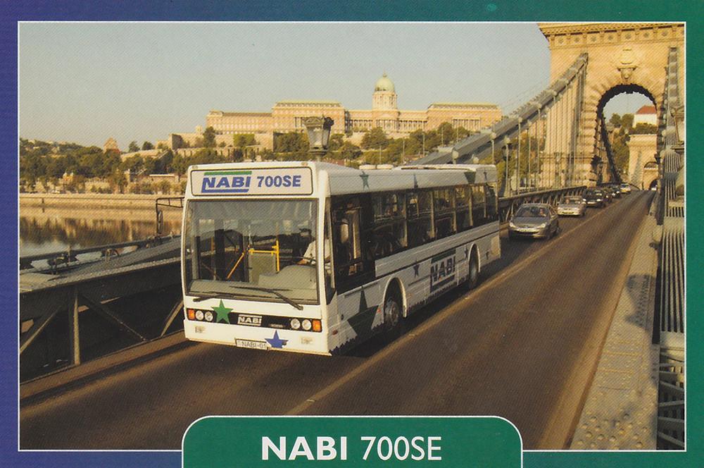 NABI 700SE gyári képeslap. (NABI archívum)
