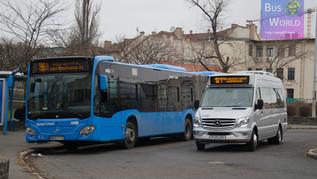 Mercedes Sprinter City 45 tesztbusz