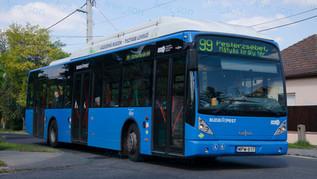 Van Hool newA330 CNG utasteszt
