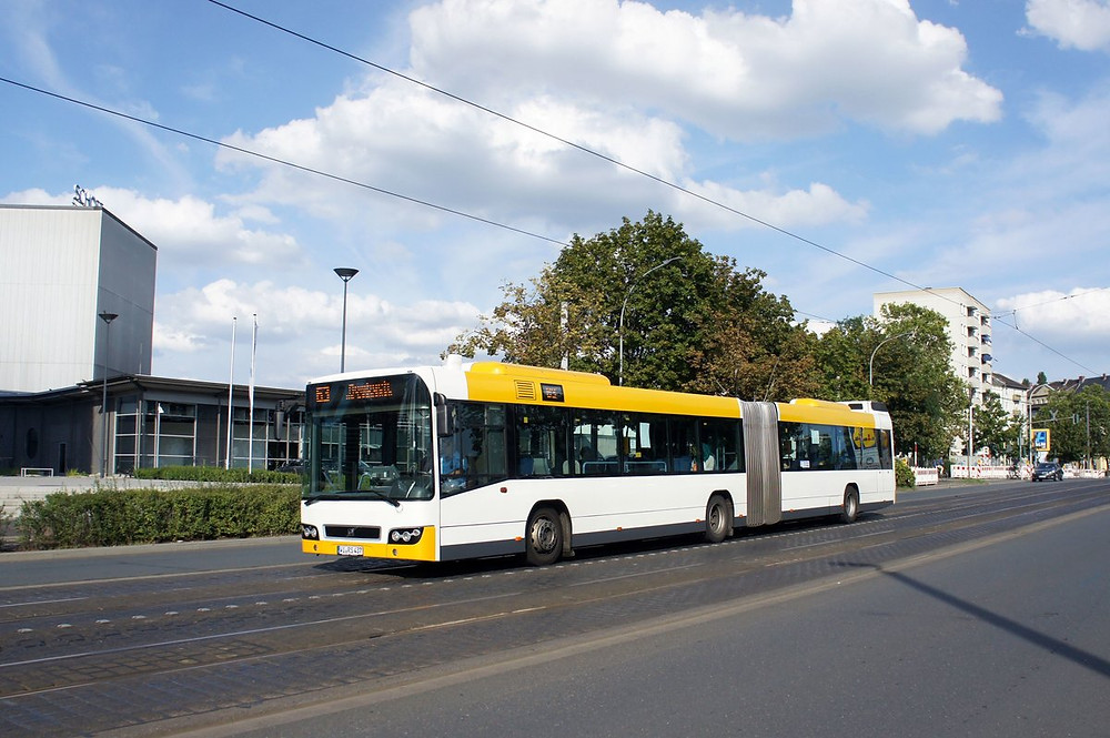 Egy mainzi városi példány. Fotó: BUS-BILD.de/N8Express.