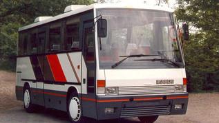 A keresztmotoros IFA busz, az Ikarus 545 története