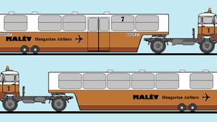 IFA beszállító autóbuszok a MALÉV állományában