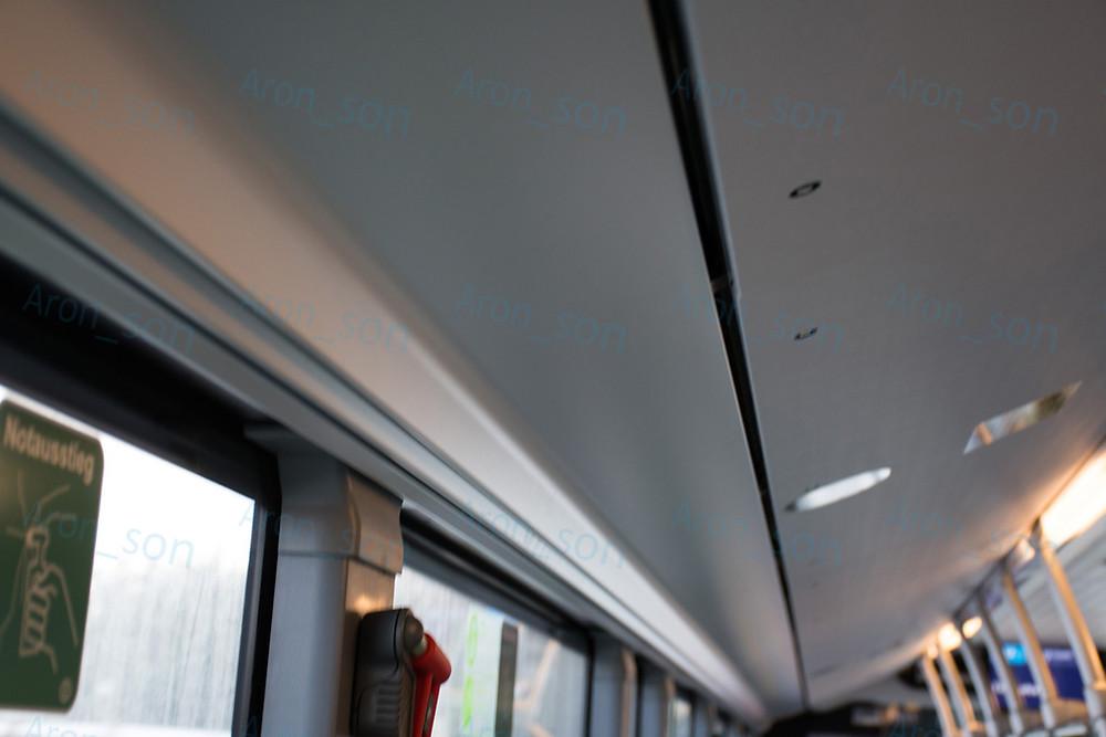 A légcsatorna burkolatok, meg az alatta futó fémlemez gyönyörűen illeszkedik. A hazai gyártók nyugodtan meríthetnének ihletet.