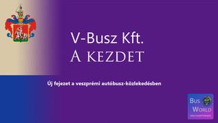 V-Busz Kft. | A kezdet