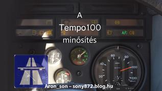 Tempo 100 minősítés