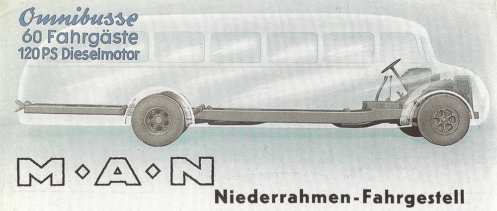 Klasszikus autóbusz alváz az MAN-től. Kép: [11]