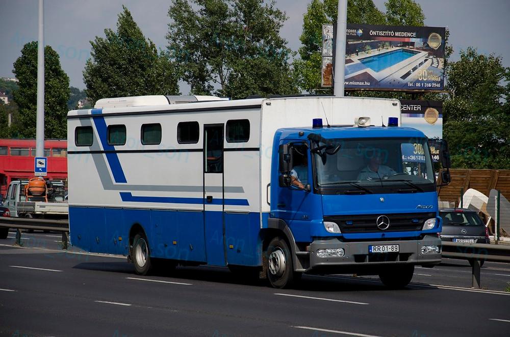 2009-es Mercedes-Ikarus.